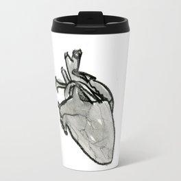 Lark Heart: black Travel Mug