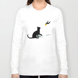 Cat and Snitch Long Sleeve T-shirt