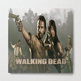 Walking Dead Metal Print