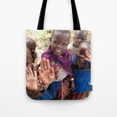 Maasai Wave Tote Bag