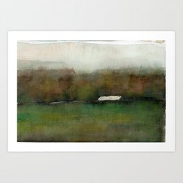 Distant Shelter Art Print