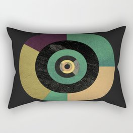 Circle Fibonacci.1 Rectangular Pillow