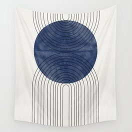 Blue Perfect Balance Wall Tapestry