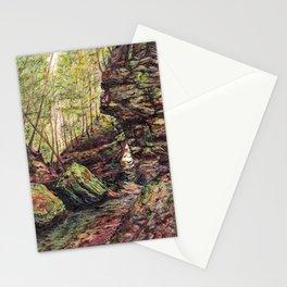 Triangle Rocks Stationery Cards