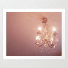 Warm Light Art Print