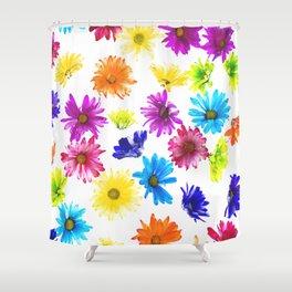 Daisy Free Fall Shower Curtain
