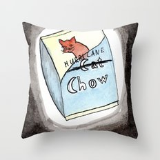 Hurricane Chow Throw Pillow