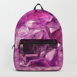 Amethyst Crystal Cave Backpack