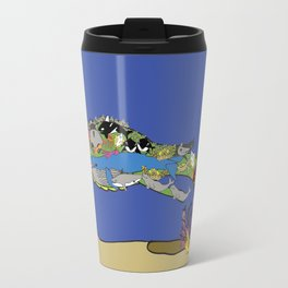Little Leviathan from Job 41: hidden in the sea Travel Mug
