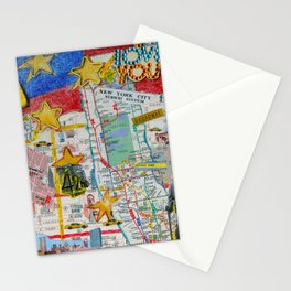 New York City Collage Stationery Cards