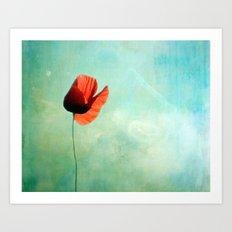 Lonesome Art Print