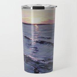Craig Leith - 2017 - Acrylic on Canvas - Michael G. Wilson Travel Mug