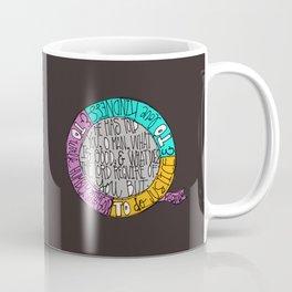 Kindness, Justice & Humility Coffee Mug