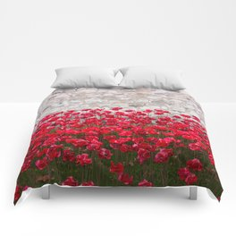 Tower Poppies 04B Comforters