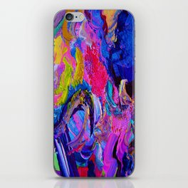 Abstract Viscosity iPhone Skin