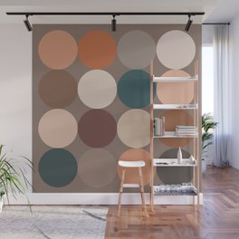 Neutral Geometric 5C Wall Mural