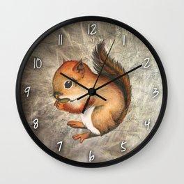 Sciurus (Baby Squirrel) Wall Clock