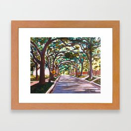 South Campus Framed Art Print