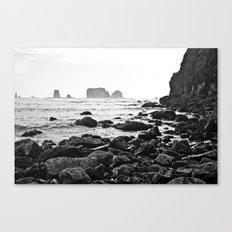 La Push Beach #2 - La Push, WA (6) Canvas Print
