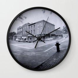 Pin Hole 3 Wall Clock