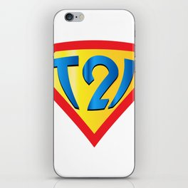 Down Syndrome Awareness T21 for Kids Men Women iPhone Skin