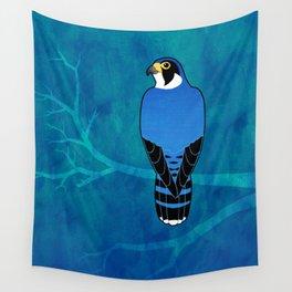 Peregrine Falcon (Falco peregrinus) Wall Tapestry