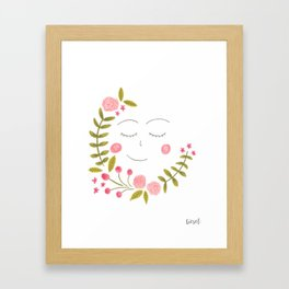 it's all about plants // 1 Framed Art Print