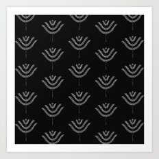 Dark Harvest Pattern Art Print