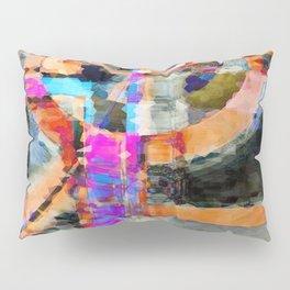 Artful Spirit Mosaic Colorful Geometric Abstract Pillow Sham