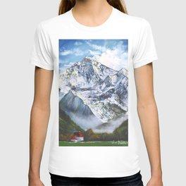 Jungfrau mountain. Swiss Alps T-shirt