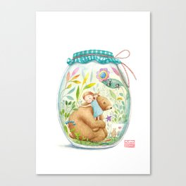 forest stories. n.7 Canvas Print