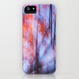 Autumn Motif 2 iPhone Case