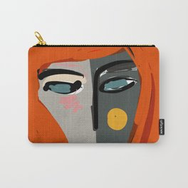 Mysterious Girl Portrait Stefania Style Art Carry-All Pouch