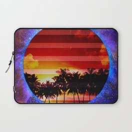 Synthwave Poster v.1 Laptop Sleeve