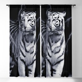 SPIRIT TIGER OF THE WEST Blackout Curtain