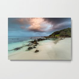 Pitter Patter Metal Print