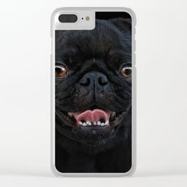 gimme a smile Clear iPhone Case