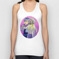 dmmd Tank Tops featuring Watch out! Clear and Aoba by Mottinthepot