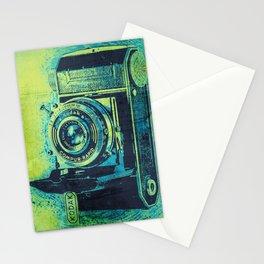 Green Retro Vintage Kodak Camera Stationery Cards