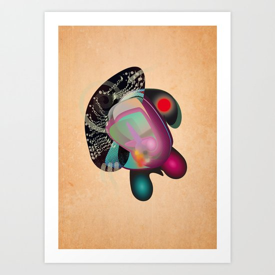 Dissection (of a thought) Art Print