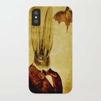 bat man iPhone & iPod Cases featuring Bat-Man by Joe Ganech
