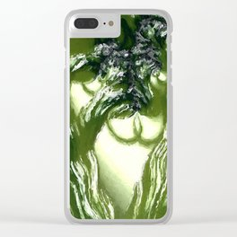 Vegetation. Abtract Art by Tito Clear iPhone Case