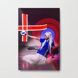 Islande Metal Print