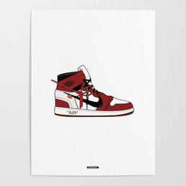 Jordan I x Off White Poster