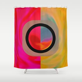 The Dualism Shower Curtain