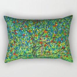 """Gustav Klimt """"Apple tree"""" I Rectangular Pillow"""