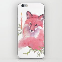 CHRISTMAS FOX 2017 iPhone Skin