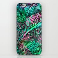 chameleon iPhone & iPod Skins featuring Chameleon by Ben Geiger