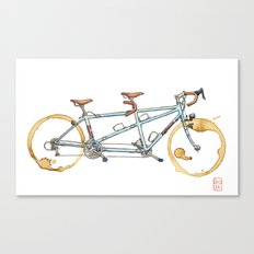 Bilenky Tandem Canvas Print