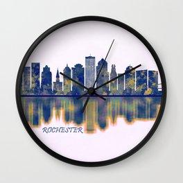 Rochester Skyline Wall Clock